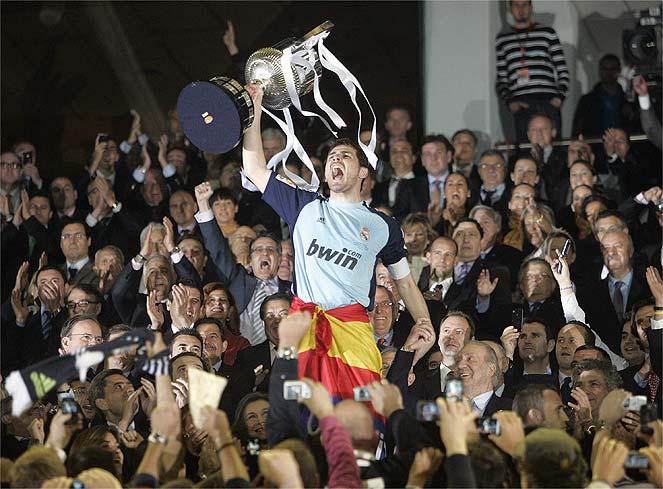 Casillas - Copa de Rey 2011