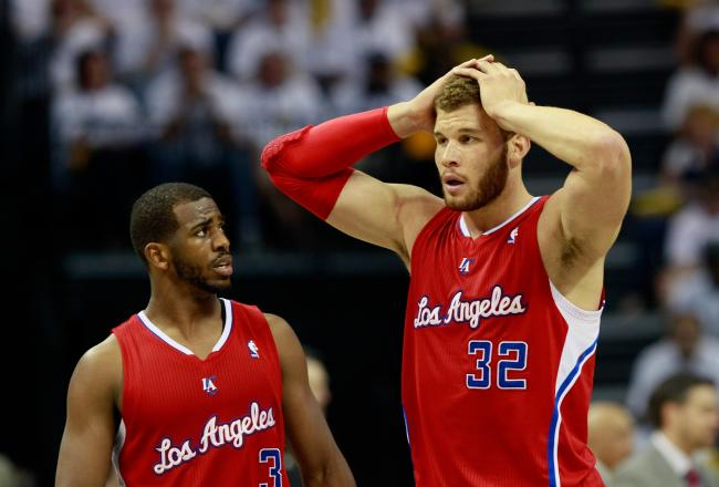 Chris Paul and Blake Griffin 2013