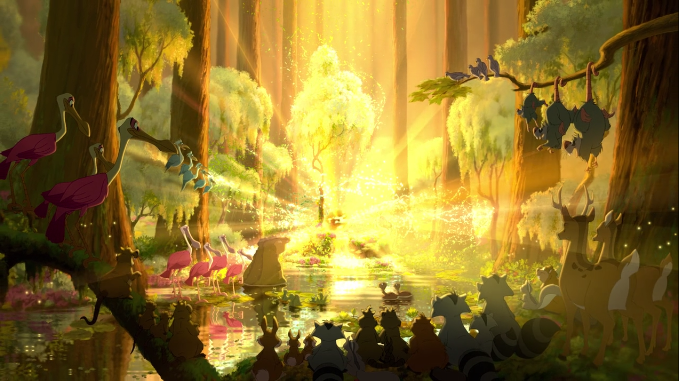 princess and the frog screenshot