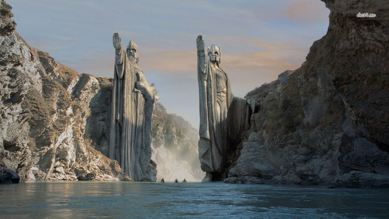 13245-gate-of-argonath-lord-of-the-rings-1366x768-movie-wallpaper