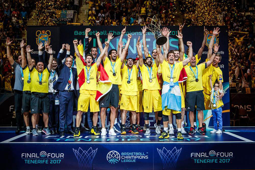 CB Canarias campeon Champions League FIBA 2017