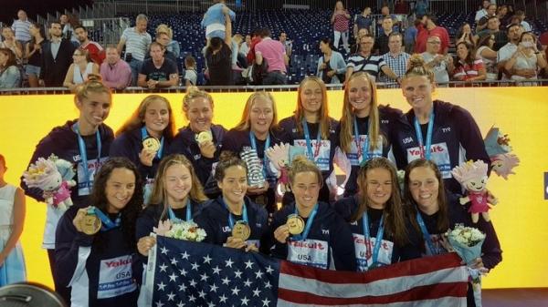 Selección USA waterpolo femenino