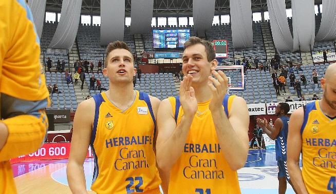 Gran Canaria celebra victoria contra GBC