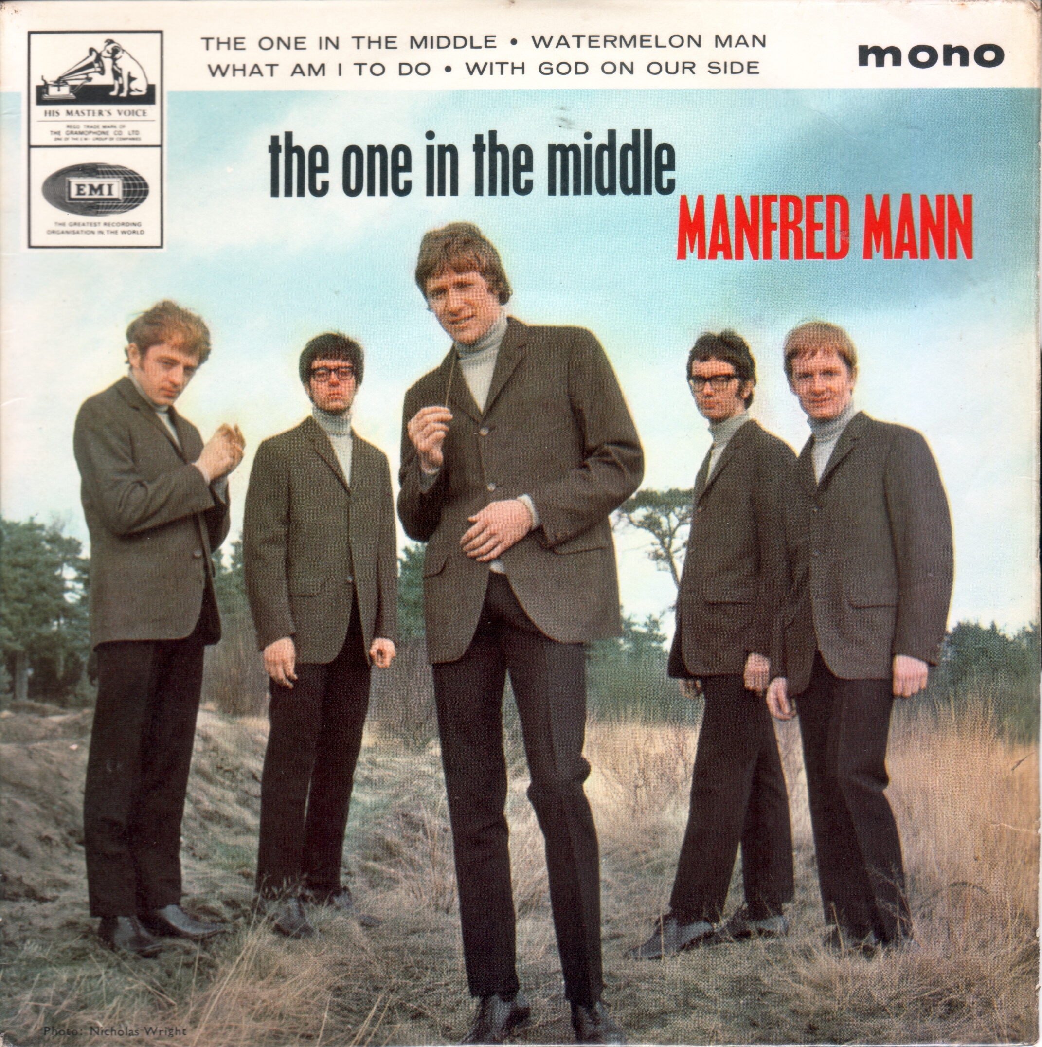 Manfred Mann - The one in the middle EP (1965)