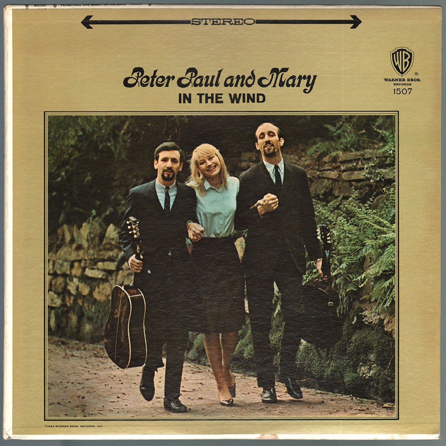 Peter, Paul and Mary - In the wind (1963)