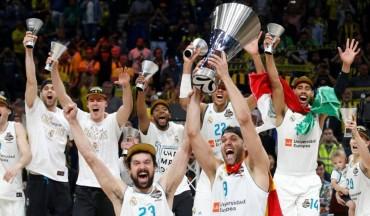 Real Madrid campeón Euroliga 2018