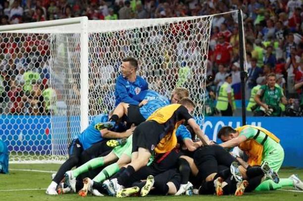 Croacia celebra el pase a semifinales
