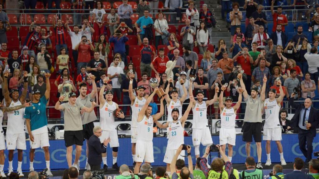 Real Madrid campeón Liga ACB 2017-18
