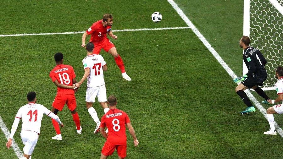 Segundo gol de Kane a Túnez