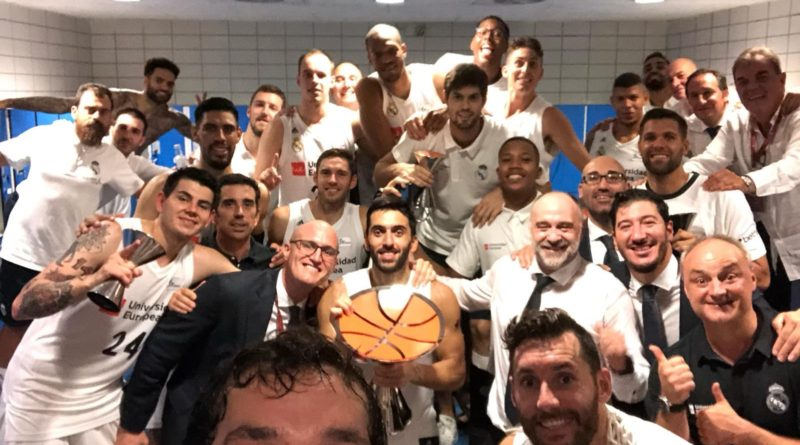 Real Madrid campeón Supercopa ACB 2018