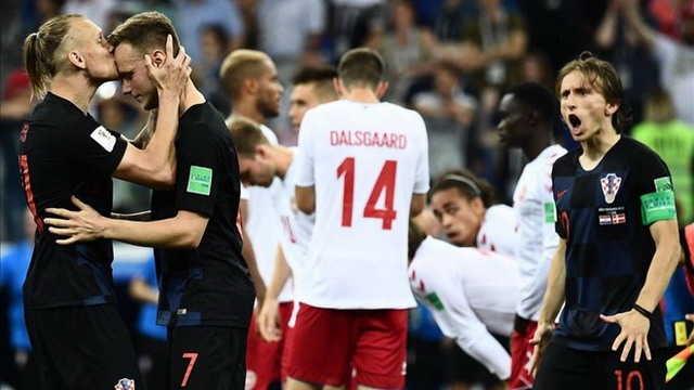 Croacia celebra el pase a cuartos de final