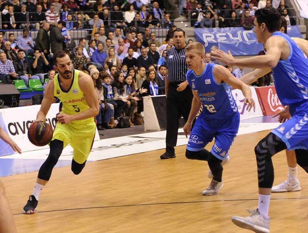 Pau Ribas encara la defensa de Burgos