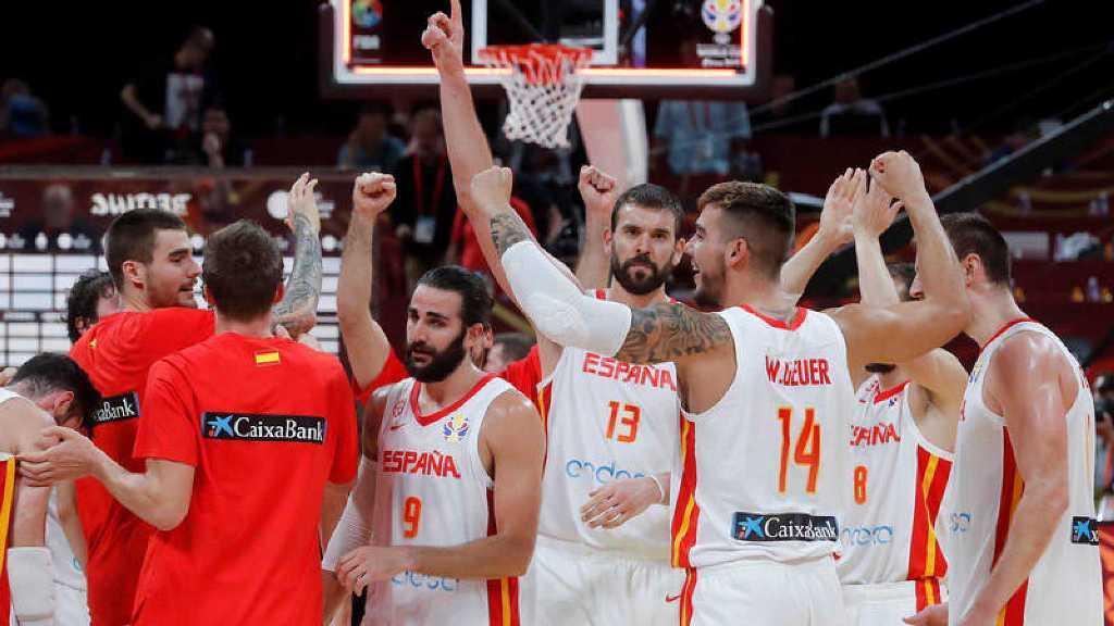 España festeja el pase a la final