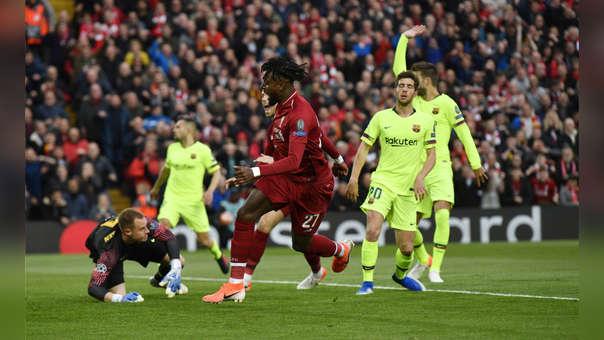 Gol de Origi que elimina al Barça