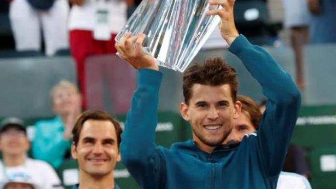 Thiem levanta el trofeo de Indian Wells