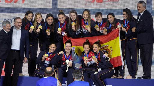 España campeona Europa waterpolo femenino 2020