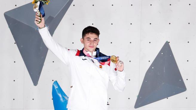 Alberto Ginés medalla de oro